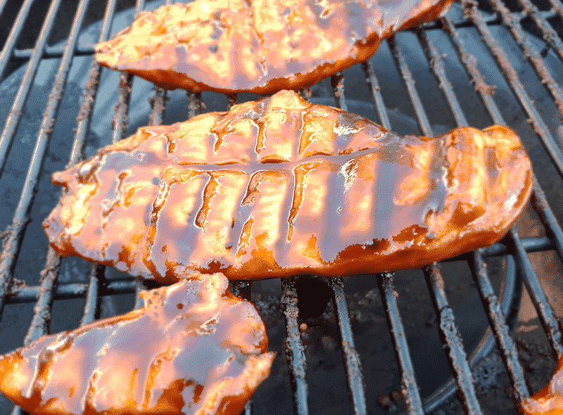 Kip in BBQ-saus
