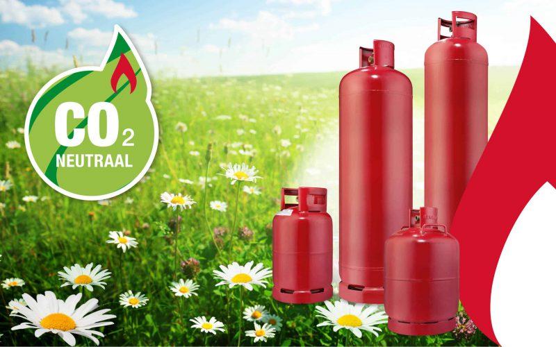 Duurzame gasfles